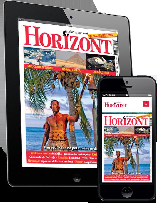 Brezplačni ogledni izvod revije Horizont
